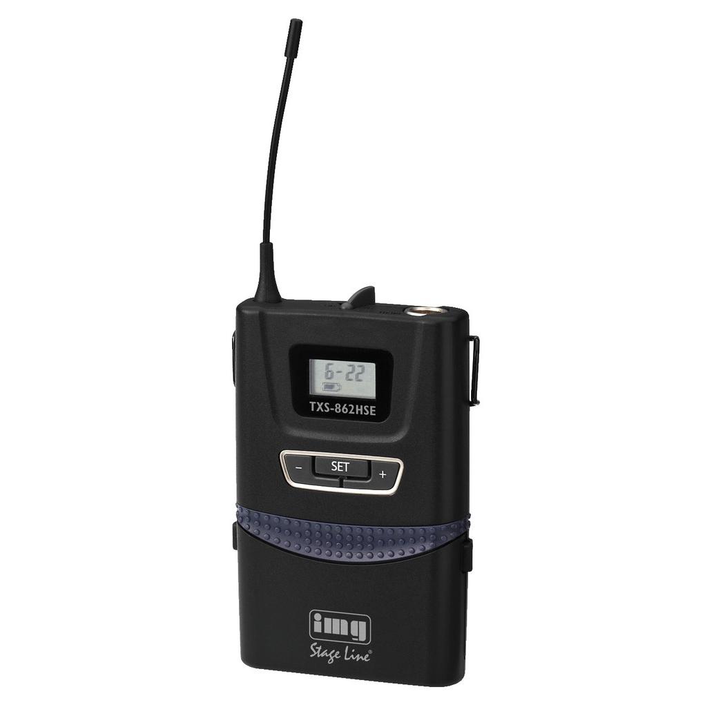 TXS-862HSE Trådløs lommesender 740-776 mhz