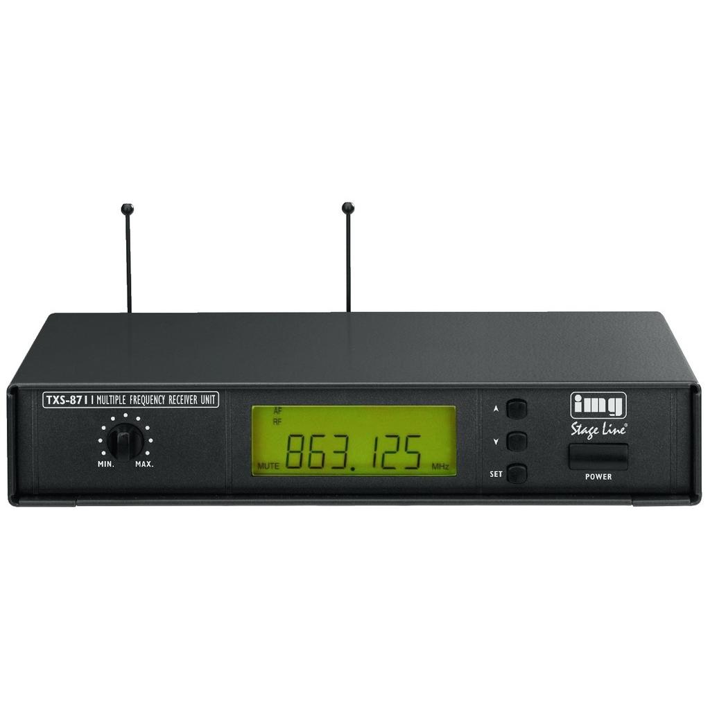 Trådløs mikrofon modtager 863-865 Mhz TXS-871