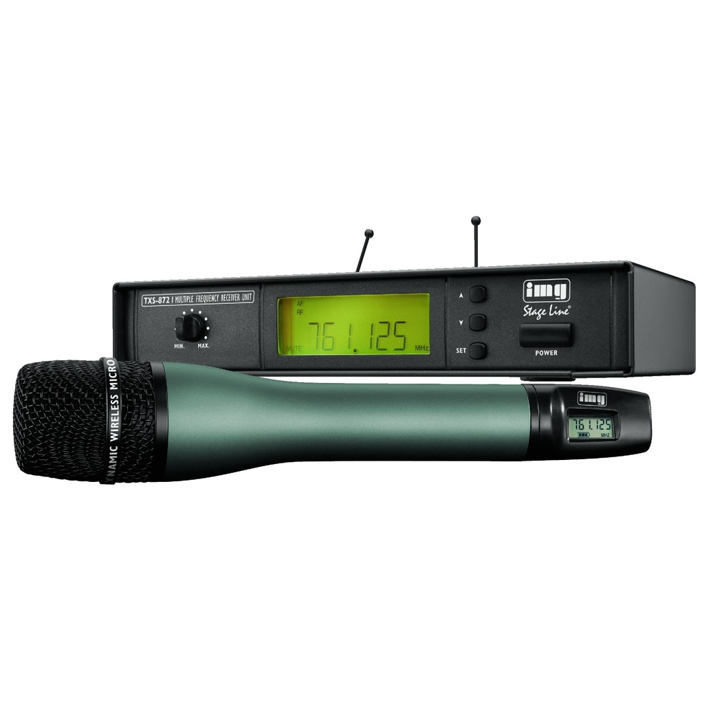 TXS-872 Trådløs mikrofon Modtager 740-764 Mhz