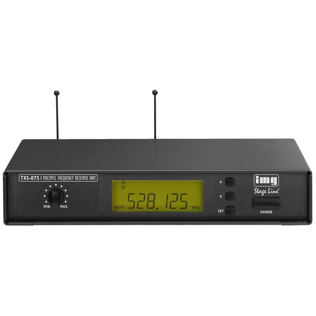 Trådløs mikrofon Modtager 518-542 MHz - TXS-875