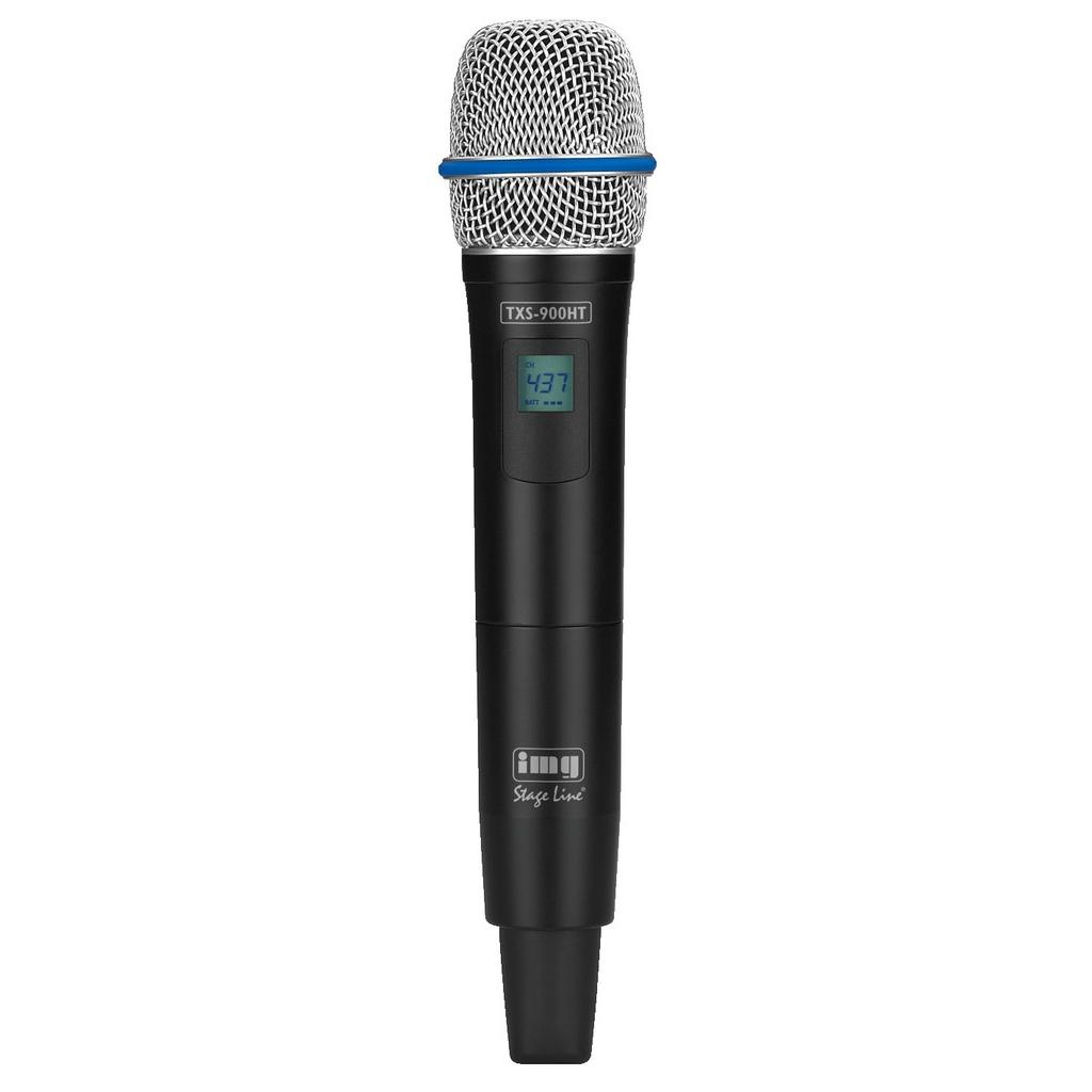 Hånd holdte trådløse mikrofoner