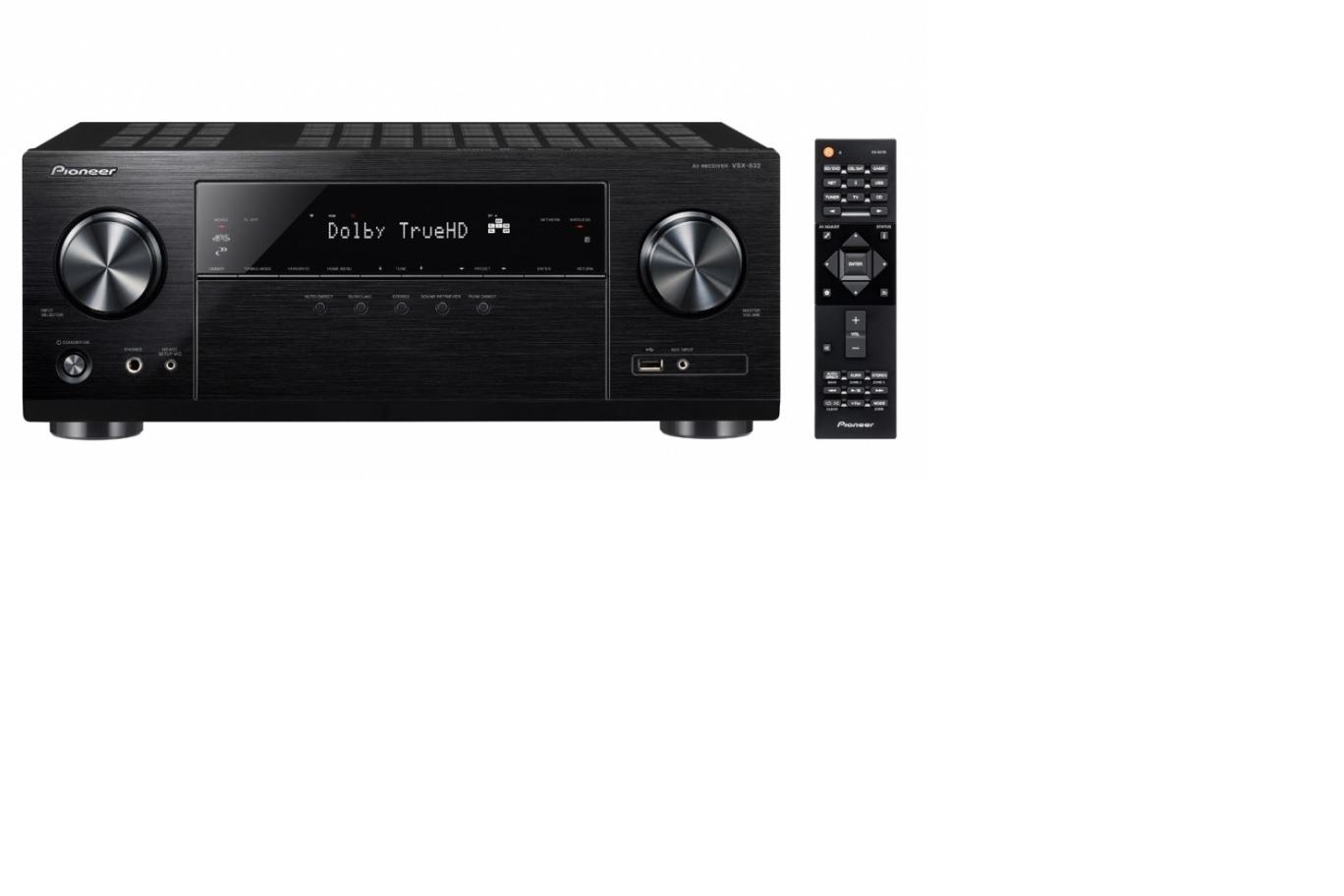 PIONEER VSX-832-B SURROUND RECEIVER - SORT