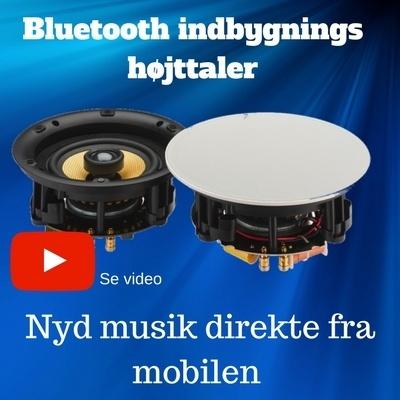 Bluetooth indbygningshøjttaler