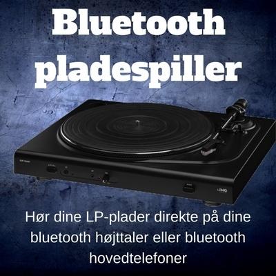 Bluetooth pladespiller
