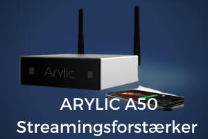Arylic a50 streamingsforstærker