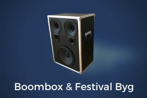 boombox og festival højttaler byg