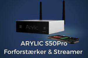 S50 pro arylic forforstærker og streamer