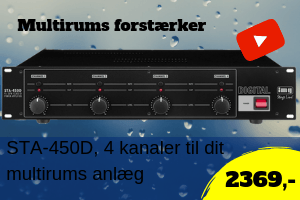 Multirumsforstærker STA-450D