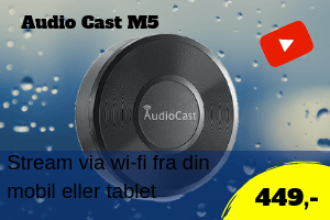 Audiocast M5 wi-fi streamer