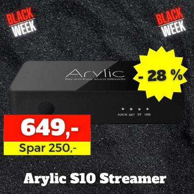Arylic s10 streamer