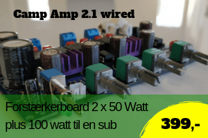 Camp amp 2.1 wired