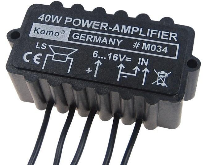 K-40 Forstærker modul