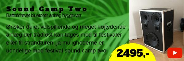 Sound camp two byggesæt